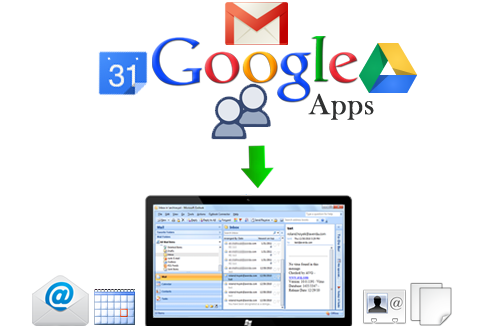 Google Apps To Hard Drive