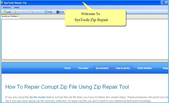 zip recover